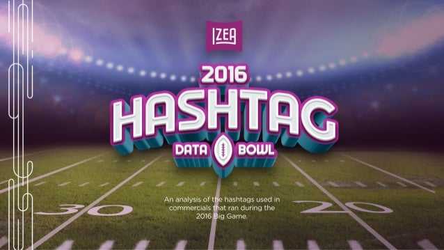 2016 Big Game Hashtags