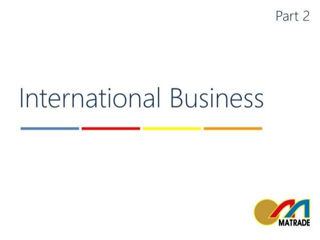 2016   matrade - entrepreneurship & international business