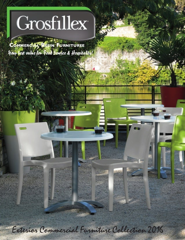 Commercial Outdoor Furniture - Commercial outdoor table and chairs