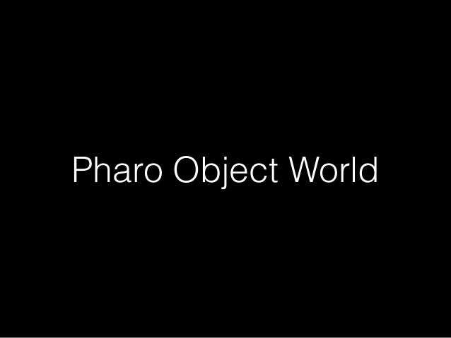 #Pharo Days 2016 Data Formats and Protocols Slide 2