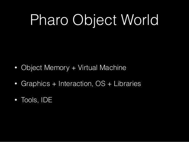 #Pharo Days 2016 Data Formats and Protocols Slide 3