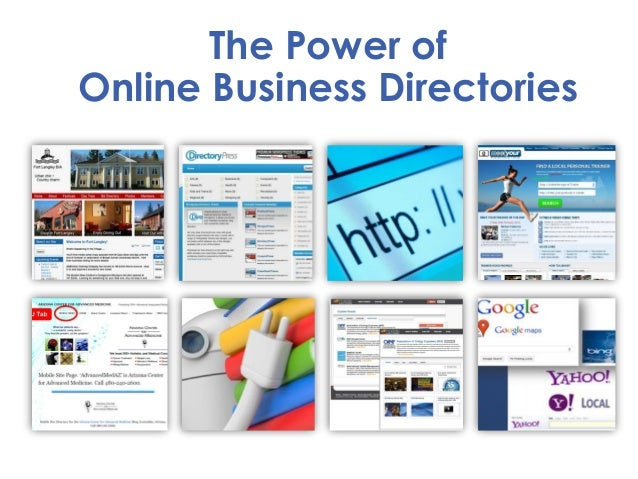 The Power of Online Business Directories
