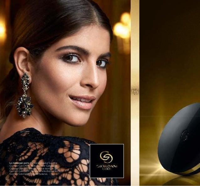 10 Le mannequin porte: Mascara Longueur Suprême Giordani Gold 24097 Black, Eye Liner Calligraphie Giordani Gold 30772 Blac...