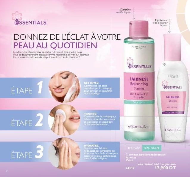 NETTOYEZ Commencez vos soins quotidiens par le nettoyage pour éliminer les impuretés et le maquillage. TONIFIEZ Continuez ...