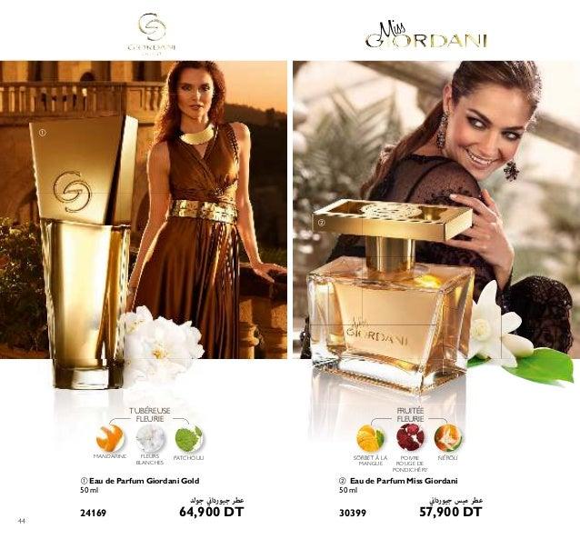 Le style ITALIEN POUR UNE FEMME GLAMOUR PARFUMSPOURELLE 45 CHYPRÉE FRUITÉE ቤ Eau de Parfum Giordani White Gold Élégante et...