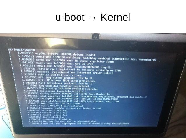 u-boot → Kernel