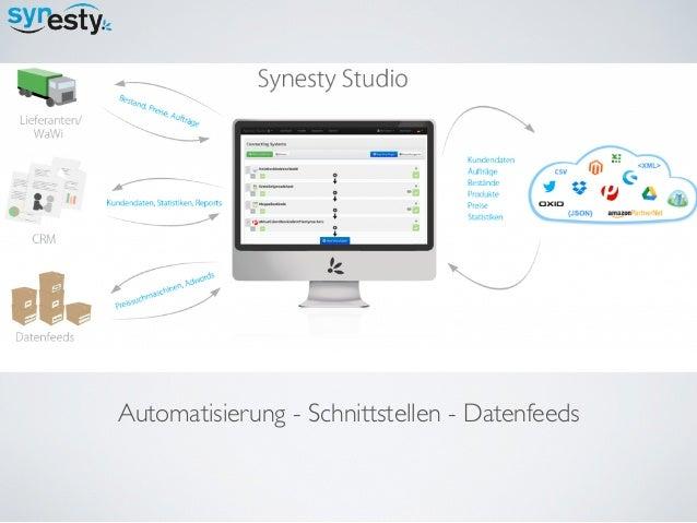 Automatisierung - Schnittstellen - Datenfeeds