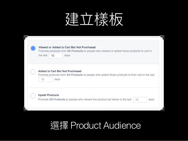 Facebook Dynamic Product Adverts
