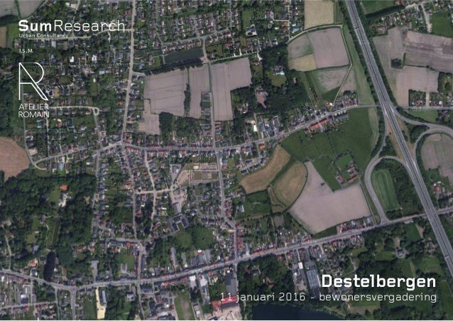 Sum.be Destelbergen 11 januari 2016 - bewonersvergadering i.s.m.