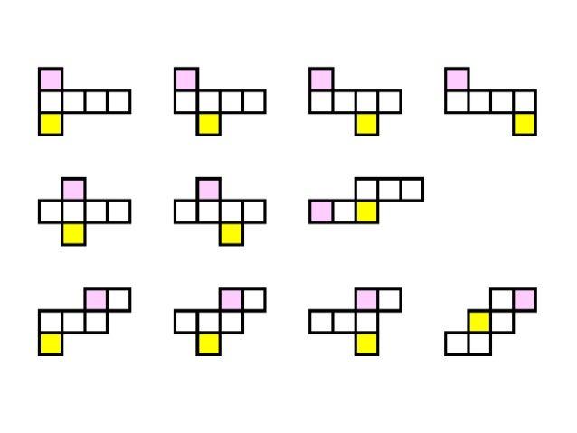 立体図形を作って壊すと、 図形の性質や構造がわかる。