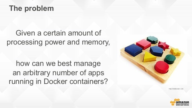 The problem Given a certain amount of processing power and memory, how can we best manage an arbitrary number of apps runn...