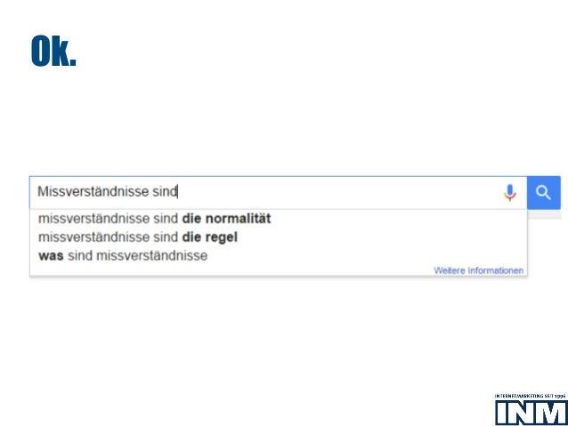 INM AG: Texter-Briefings: Wissen, was Suchende finden wollen Slide 3