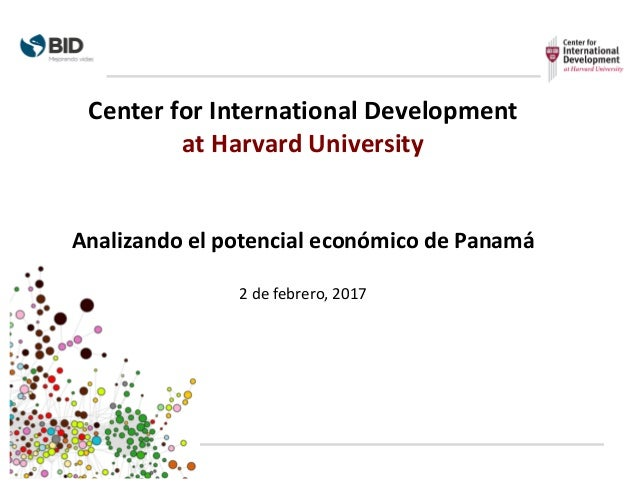 Center	   for	   International	   Development	    at	   Harvard	   University Analizando	   el	   potencial	   económico	 ...