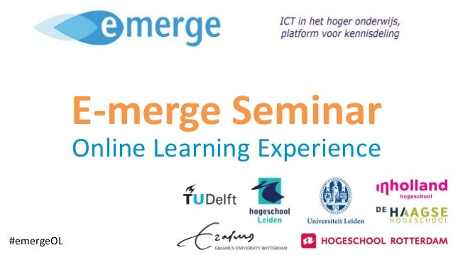 E-merge Seminar Online Learning Experience #emergeOL