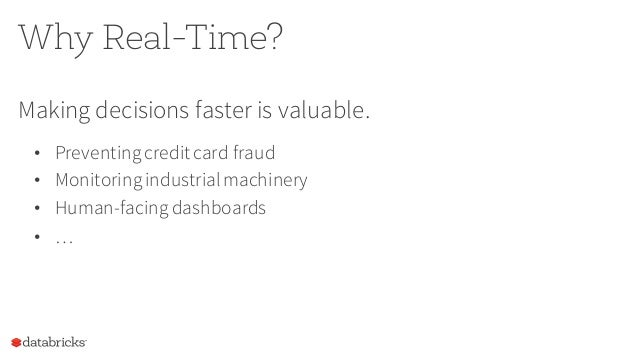 The Future of Real-Time in Spark Slide 2
