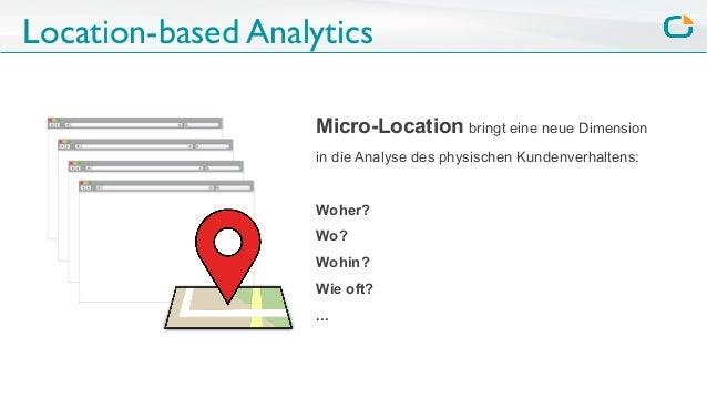 Location-based Analytics Micro-Location bringt eine neue Dimension in die Analyse des physischen Kundenverhaltens: Woher? ...
