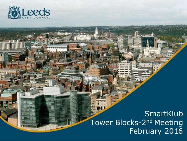 SmartKlub Tower Blocks-2nd Meeting February 2016