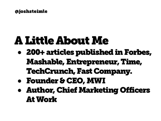 How to Become a Contributor to Forbes, Mashable, TechCrunch & More Slide 2