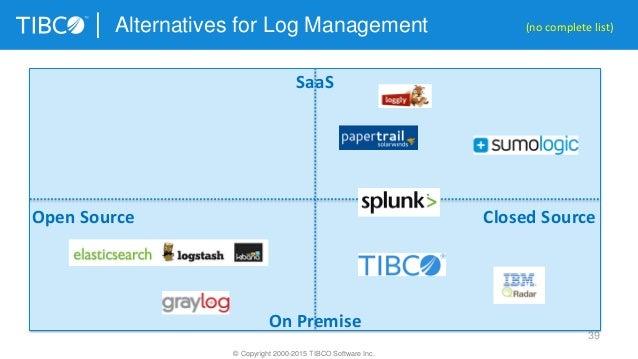 Framework And Product Comparison For Big Data Log
