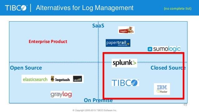 Framework and Product Comparison for Big Data Log Analytics