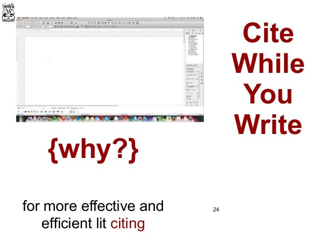 Papers cite while you write