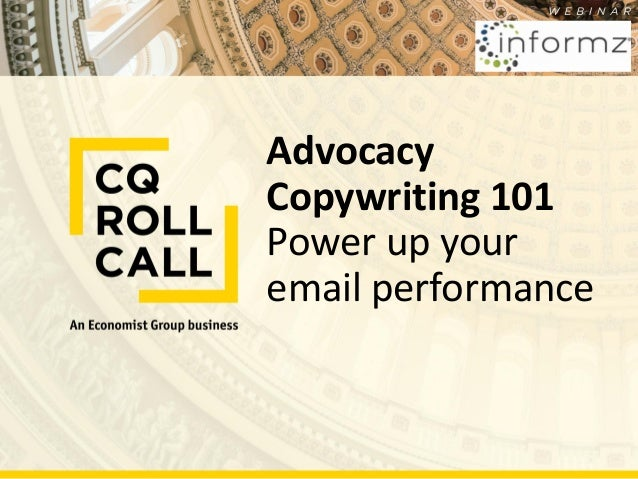 Advocacy Copywriting 101 Power up your email performance