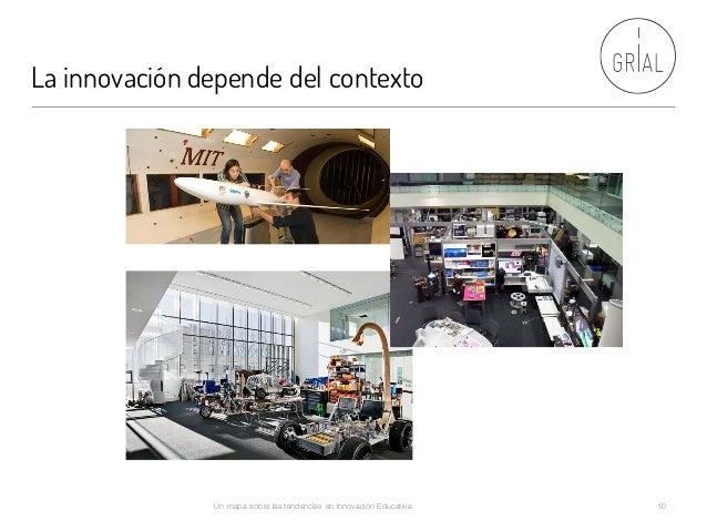 La innovación depende del contexto Un mapa sobre las tendencias en Innovación Educativa 10
