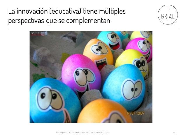 La innovación (educativa) tiene múltiples perspectivas que se complementan Un mapa sobre las tendencias en Innovación Educ...