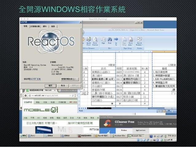 全開源WINDOWS相容作業系統