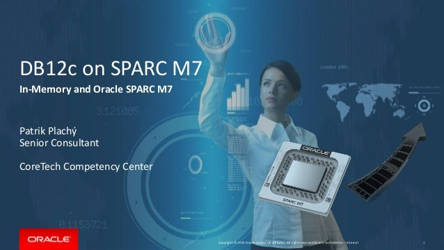 Copyright © 2015 Oracle and/or its affiliates. All rights reserved.   DB12c on SPARC M7 In-Memory and Oracle SPARC M7 Patr...