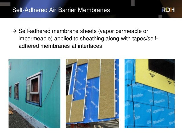 Air Barrier Membrane : Vapour permeable air barriers real world evaluation