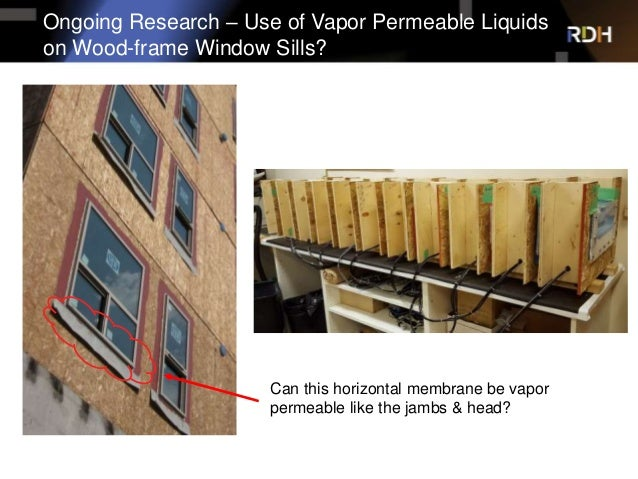Vapour Permeable Air Barriers Real World Evaluation