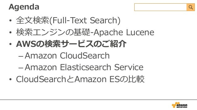 Searching Your Data with Amazon CloudSearch