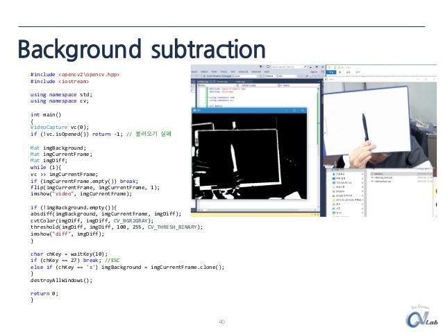 c++ opencv tutorial