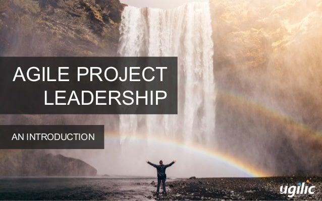 AGILE PROJECT LEADERSHIP AN INTRODUCTION