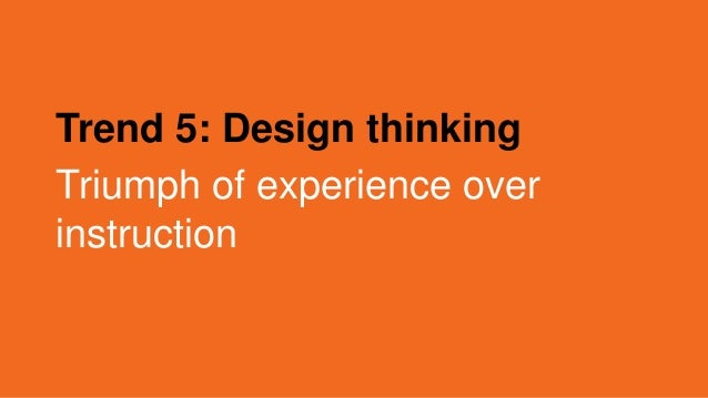 Design thinking comes to HR
