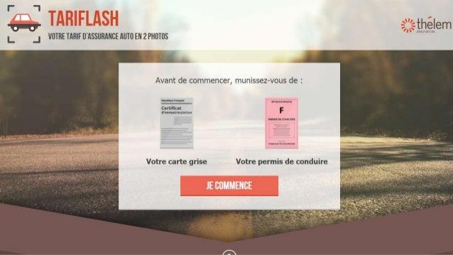Thelem Assurances - Un devis en mode express sur mobile avec 2 photos Slide 3