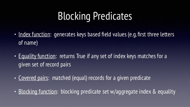 Overview of Adaptive Blocking for DDL Research Lab Slide 2