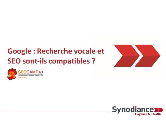 Google : Recherche vocale et SEO sont-ils compatibles ?