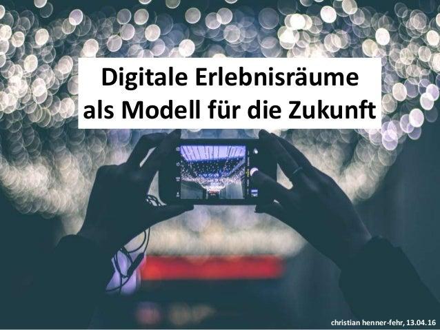 Kulturtourismus und digitale Erlebnisräume Slide 2