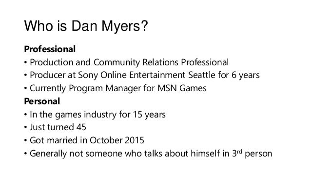Let's Talk About Game Production Slide 2