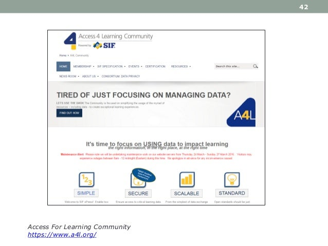 42 Access For Learning Community https://www.a4l.org/