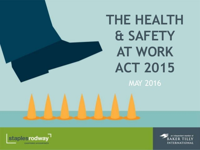 the health and safety at work act 1974 essay 1 name 3 different laws or legislations 1health and safety at work etc act 1974 the health and safety at work etc act 1974 , also referred to as hasaw or.