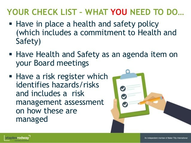agreed ways of working health and safety 2 | eu-osha – european agency for safety and health at work worker  participation  worker participation helps in developing effective ways  are  there agreed procedures for the participation of worker representatives 2.