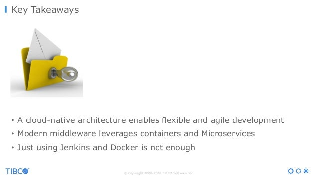 Microservices, Containers, Docker and a Cloud-Native Architecture in the Middleware World  Slide 2