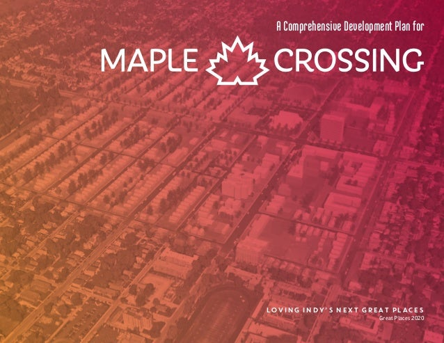 Great Places 2020 Maple Crossing Full Strategic Plans