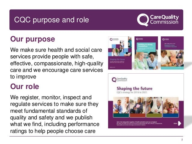 What is the role of the Care Commission?