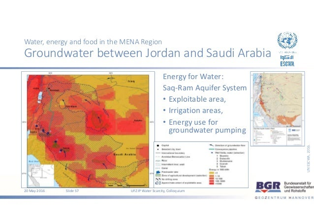 water scarcity in the mena area Water - a scarce resource in the mena region bringing in its experience in the area of water resources governance, the iucn environmental law centre is part of.