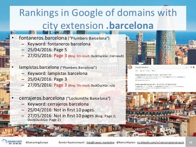 New tlds a top online marketing opportunity den haag - Antenista en barcelona ...