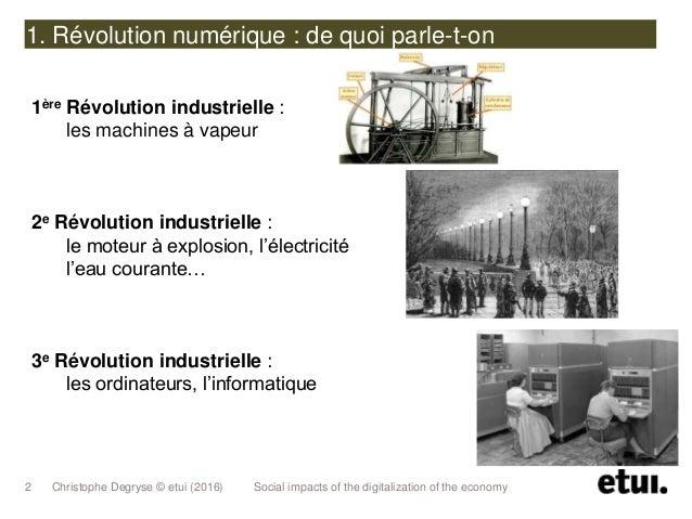 La digitalisation de l'Economie Slide 3